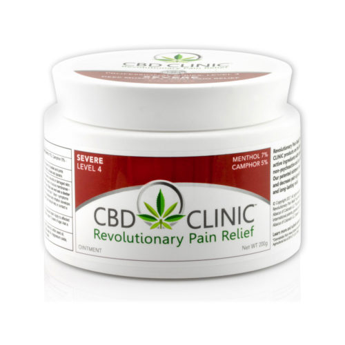 CBD CLINIC 200 GRAM TREATMENT TUB LEVEL 4 500x500
