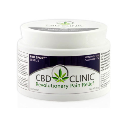 CBD CLINIC 200 GRAM TREATMENT TUB LEVEL 5 500x500